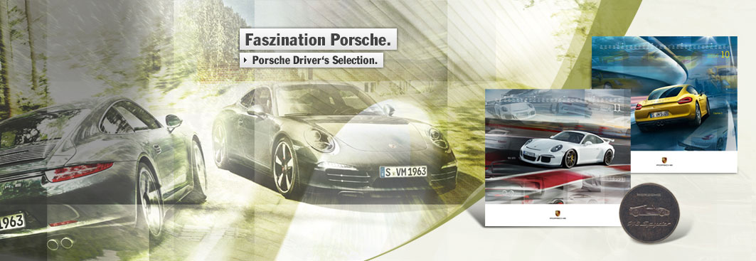 Porsche Design Driver Selection